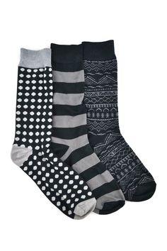 Black Crew Sock - Pack of 3 on HauteLook. I have these...you can get them on walmart.com!