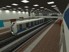 [Minecraft] Subway by Yazur.deviantart.com on @deviantART