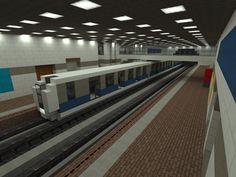 [Minecraft] Subway by Yazur.deviantart.com on @deviantART