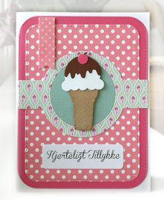 Card ice cream icecream cone MFT Sweet Treats Die-namics, MFT Blueprints 31 Die-namics #mftstamps - JKE