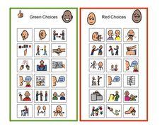 Examples of Self-Management & Emotional/Behavioral Supports Behavior Cards, Classroom Behavior Management, Behaviour Management, Classroom Behaviour, Behavior Plans, Behavior Interventions, Behaviour Chart, Emotional Regulation, School Social Work
