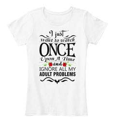 Watch Once Upon A Time Women's Premium Tee T-Shirt #Teespring #GraphicTee