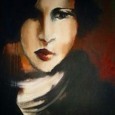 Nana Bakkes @ Laubar Art  #art #artist #painting #gallery #southafrican