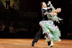 An amazing foxtrot! Linz Open 2007 (Ballroom Dance, DanceSport)