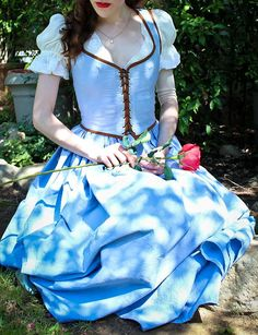 Belle's Blue Dress by MiceInTheTea on Etsy (The Blue dress from OUAT) ahhhhh! I want!!