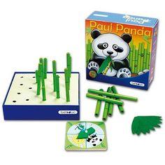 Die Spieler führen verschiedene Aktionen aus, die der Drehpfeil bestimmt. Sie dürfen Bambus pflanzen und Paul füttern, aber manchmal  müssen sie auch Bambus wieder fällen. Wer als erster alle seine Bambusstäbchen gepflanzt hat, ist Gewinner des Spiels. Das liebenswerte Spiel vermittelt Naturzusammenhänge und sensibilisiert die Spieler für ihre Umwelt.