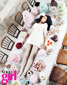 Vogue Girl Korea, mars 2007