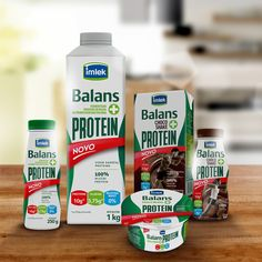 Imlek Balans + Protein on Packaging of the World - Creative Package Design…