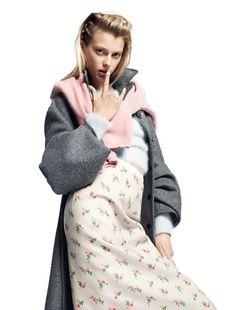 Sigrid Agren for POP Autumn/Winter 2013 Photographer: Daniel Sannwald Fashion Editor: Stevie Dance