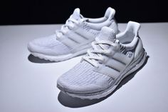 premium selection 0ee61 8c5e3 Adidas ultra boost 3.0 triple white sneakers womens and mens running shoes  Chaussures De Course Pour