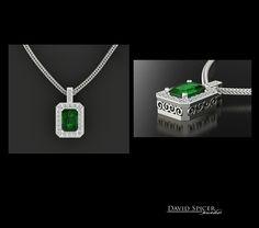 Emerald Pendant Prasiolite, Emerald Pendant, I Love Jewelry, London Blue Topaz, Dog Tag Necklace, Jewelery, Custom Design, Gems, Necklaces