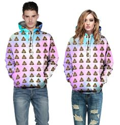 2015 newest collection 3D print plus size XL emoj hoodies winter autumn couple hooded sweatshirt high quality tracksuits mujer