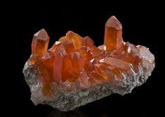 Quartz-Hematite   Orange River, Namibia  103mm  Photographed for Green Mountain Minerals : Quartz : Mineral Photographer - Professional Gemstone and Specimen Photography