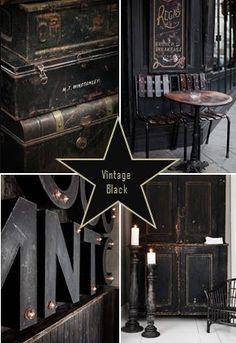moodboard - vintage black