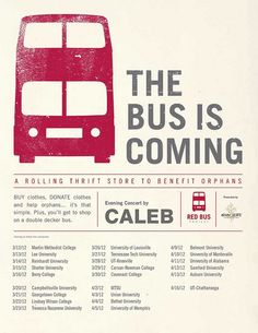 Red Bus Tour Flyer by ShowHope, via Flickr