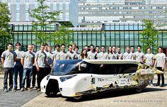 Stella Lux, voiture solaire de l'université d'Eindhoven