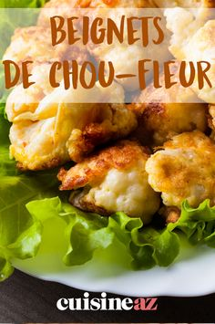 Beignets de chou-fleur Beignets de chou-fleur ,Choux Cauliflower fritters can be enjoyed as an aperitif or as a starter. Easy Chicken Dinner Recipes, Vegetarian Recipes Dinner, Healthy Recipes, Healthy Meals, Dinner Healthy, Dessert, Food, Cauliflower Fritters, Crockpot Meals