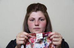 'A bargain-hunting shopper got a shock when she checked the label of her new £10 Primark dress. 25-year-old Rebecca Gallagher was horrified to find a hand-stitched label reading 'Forced to work exhausting hours'  ... Primark was one of the brands that sourced clothing from the Rana Plaza factory which collapsed in 2013 killing more than 1,100 people.' So were Mango, Walmart (list at link) ... still refusing to sign work protection agreements http://www.pinterest.com/pin/533958099543011113/