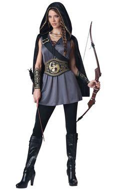 Huntress Adult Costume - X-Large