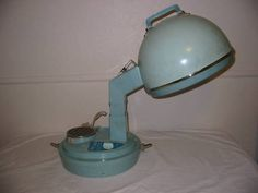 60/70's Lady Schick Consolette Blue Hairdryer - Mum had one of these, I think it was a little bit more modern though