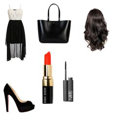 """""""by Jojo"""" by kaejaee on Polyvore featuring Christian Louboutin, Yves Saint Laurent, Bobbi Brown Cosmetics and NARS Cosmetics"""
