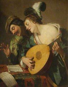 """The Music Lesson"". Hendrick ter Brugghen (1588–1629), Dutch painter…"