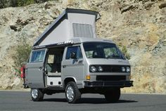Volkswagon Vanagon!! Spent my summer (at 17) in 1983 traveling Europe in a similar one.
