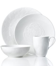 Marchesa by Lenox Dinnerware, Marchesa Rose 4 Piece Place Setting