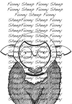 If you like , please contact : changestyle7@gmal.com Information on all the illustrations for sale FUNNY SHEEP