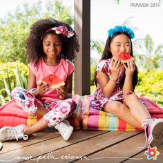 As principais tendências de moda infantil na coleção Primavera 2014 Brandili :) #euquerobrandili