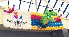 Twisted Balloon Company's Todd Neufeld is in New Orleans this week attending the World Balloon Convention. #wbc2016 #worldballoonconvention #twistedballoon #twistedballooncompany #neworleans #toddneufeld