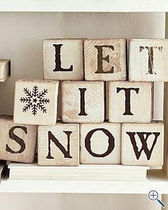 HOME & GARDEN: Let it snow !