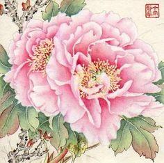"""From the Pavilion"" - Original Fine Art for Sale - © Jinghua Gao Dalia"