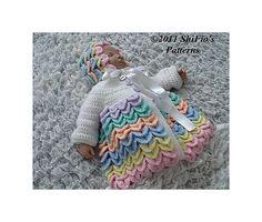 Ravelry: Crocodile Matinee Crochet Pattern #181 pattern by ShiFio's Patterns