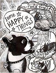 boston terrier christmas artwork - Google Search