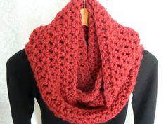 Super bulky infinite scarf