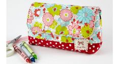 Tutorial: Back-to-school supply pouch