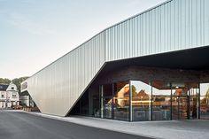 Neubau Supermarkt - negen graden architectuur