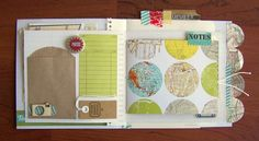 "Hello! There is a new challenge up at Scrapbook Circle  today. Inspired by all the travel-themed goodness in the ""Field Notes"" kit, the chal..."