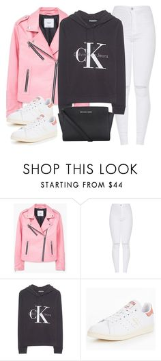 """Untitled #2400"" by thisishowwedress on Polyvore featuring MANGO, Calvin Klein Jeans, adidas Originals and Michael Kors"