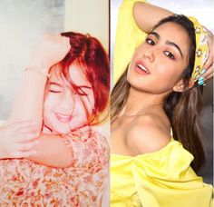 Sara Ali Khan was born on August 12, 1993 in Mumbai , Maharashtra . She is living in mumbai since she was born her mother Amrita singh took care of him when was very young Bollywood Actress Hot, Bollywood Stars, Bollywood News, Bollywood Fashion, Creepy Kids, Current Picture, Throwback Pictures, Some Things Never Change, Sara Ali Khan