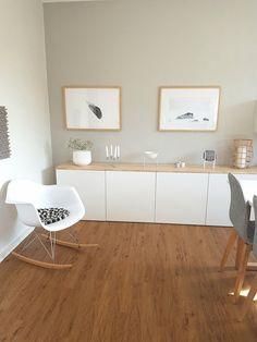 The most beautiful ideas with the IKEA BESTÅ system - Painted - Ikea Living Room, Ikea Hack Kitchen, Living Room Tv, Home And Living, Living Room Designs, Ikea Hack Bedroom, Home Decor, Bedroom Closet Systems, Ikea