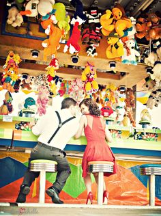 Carnival Engagement Session