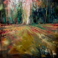 I Walk With Trees Oil on canvas 60cm x 60cm