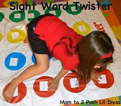 A bunch of hands on ideas for learning sight words could use for letters,numbers, colors and shapes for Pre-K