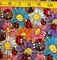 Ladybug Fabric - Be my Bug