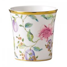 Wedgwood 40003555 Little Luxuries Sweet Plum Sweet Plum and Raspberry Candle Holder