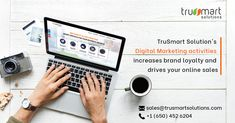Trusmart solutions I IT services for emerging and small business. Digital Marketing Services, Social Media Marketing, Drive Online, Online Sales, Seo, Branding, Activities, Business, Brand Management