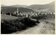 germany, SCHMALLENBERG, Hochsauerland, Panorama (1930s) Phil. Glade RPPC