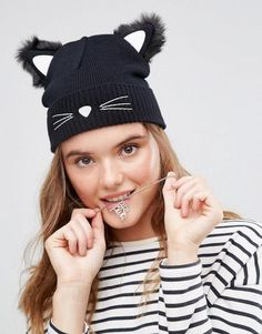 2cc7694343ae6 Black cat hat - click through to see more cute animal ears as a cute,